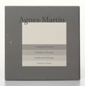 Fine Art - Work on Paper:Print, Agnes Martin (1912-2004). Paintings and Drawings 1974-1990(suite of 10), 1974. Lithographs in colors on firmtransparen...