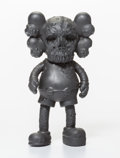 Fine Art - Sculpture, American:Contemporary (1950 to present), KAWS X Pushead. Companion (Black), 2005. Cast vinyl. 10-1/2x 5-1/2 x 3-1/2 inches (26.7 x 14 x 8.9 cm). Stamped to the ...