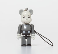 KAWS X BE@RBRICK Companion 70%, keychain, 2011 Painted cast resin 2 x 1-1/2 x 1 inches (5.1 x 3.8