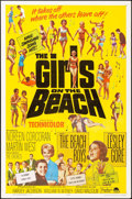 """Movie Posters:Rock and Roll, The Girls on the Beach (Paramount, 1965). One Sheet (27"""" X 41""""). Rock and Roll.. ..."""