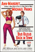"""Movie Posters:Drama, Bus Riley's Back in Town (Universal, 1965). Folded, Very Fine+. OneSheet (27"""" X 41""""). Drama.. ..."""