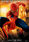 "Movie Posters:Action, Spider-Man 2 & Other Lot (Columbia, 2004). One Sheets (2)(26.75"" X 39.75"") SS Advance, Destiny Style. Action.. ... (Total: 2Items)"