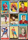 Hockey Cards:Lots, 1950's - 1980's Hockey Hall of Famers Card Collection (9). ...