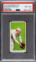 Baseball Cards:Singles (Pre-1930), 1909-11 T206 Piedmont 350 Peaches Graham (Boston) PSA NM-MT 8 - PopTwo, None Higher! ...