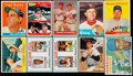 Baseball Cards:Lots, 1950's - 1970's Topps & O-Pee-Chee Baseball Stars & Hall ofFamers Collection (15). ...
