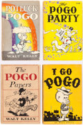 Books:Miscellaneous, Pogo Paperback Books Group of 14 (Various Publishers) Condition: Average VG.... (Total: 14 Items)