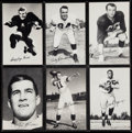 Football Collectibles:Photos, 1955 Los Angeles Rams Team Issue Photo Set (38). ...