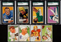 Football Cards:Lots, 1952 Bowman Large Football Collection (13)....