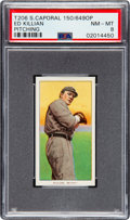 Baseball Cards:Singles (Pre-1930), 1909-11 T206 Sweet Caporal 150/649OP Ed Killian (Pitching) PSA NM-MT 8 - Only One Higher! ...