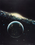 Books:Science & Technology, [Jon Lomberg and Carl Sagan]. Group of Eight Items Related toContact, the Book and Film.
