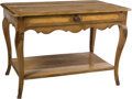 Furniture : French, A French Provincial Paint Decorated Table, 19th century. 24-1/2 x 35 x 23 inches (62.2 x 88.9 x 58.4 cm). ...