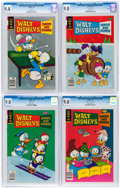 Bronze Age (1970-1979):Cartoon Character, Walt Disney's Comics and Stories #460-462 and 466 CGC-Graded File Copies Group of 4 (Gold Key, 1979) CGC NM/MT 9.8.... (Total: 4 Comic Books)