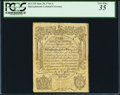 Colonial Notes:Massachusetts, Massachusetts June 20, 1744 1s PCGS Very Fine 35.. ...