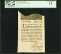 Colonial Notes:New York, New York May 31, 1709 5s PCGS Choice About New 55.. ...