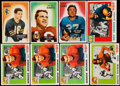 Football Cards:Lots, 1955 Bowman And Topps All American Football Collection (58). ...