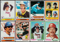 Baseball Cards:Sets, 1978 and 1979 Topps Baseball Complete Sets (2). ...