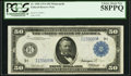 Fr. 1056 $50 1914 Federal Reserve Note PCGS Choice About New 58PPQ