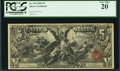 Large Size:Silver Certificates, Fr. 269 $5 1896 Silver Certificate PCGS Very Fine 20.. ...