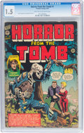 Golden Age (1938-1955):Horror, Horror From the Tomb #1 (Premier, 1954) CGC FR/GD 1.5 Light tan to off-white pages....