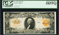 Large Size:Gold Certificates, Fr. 1187 $20 1922 Gold Certificate PCGS Choice About New 58PPQ.. ...