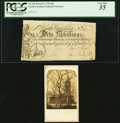 Colonial Notes:North Carolina, North Carolina March 9, 1754 40s Christ Church at Newbern PCGS Very Fine 35.. ... (Total: 2 items)