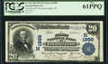 National Bank Notes:Wisconsin, Wisconsin Rapids, WI - $20 1902 Plain Back Fr. 654 The First NB Ch. # (M)1998. ...