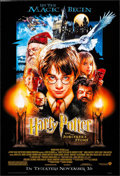 "Movie Posters:Fantasy, Harry Potter and the Sorcerer's Stone (Warner Brothers, 2001). OneSheet (27"" X 40"") DS Advance, Drew Struzan Art. Fantasy...."