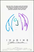 "Movie Posters:Rock and Roll, Imagine: John Lennon & Other Lot (Warner Brothers, 1988). One Sheet (27"" X 40.5"") SS Regular, John Lennon Artwork, & Poster ... (Total: 2 Items)"