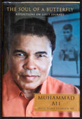 "Movie Posters:Sports, Soul of a Butterfly by Muhammad Ali (Simon & Schuster, 2004). Autographed Hardcover Book (221 Pages, 6"" X 8.75""). Sports.. ..."