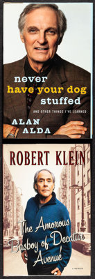 Never Have Your Dog Stuffed by Alan Alda & Other Lot (Random House, 2005). Autographed Hardcover Books (2) (Multiple...