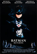 "Movie Posters:Action, Batman Returns (Warner Brothers, 1992). One Sheet (27"" X 40"") SS Regular, John Alvin Artwork. Action.. ..."