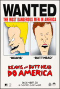 """Movie Posters:Animation, Beavis and Butthead Do America & Other Lot (Paramount, 1996). One Sheets (2) (27"""" X 40"""") SS Advance. Animation.. ... (Total: 2 Items)"""