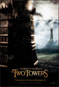"""Movie Posters:Fantasy, The Lord of the Rings: The Two Towers (New Line, 2002). One Sheet(26.75"""" X 39.75"""") DS Advance, Tower Style D. Fantasy.. ..."""