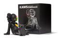 Fine Art - Sculpture, American:Contemporary (1950 to present), KAWS (b. 1974). Resting Place Companion (Black), 2013.Painted cast vinyl. 8-1/2 x 9 x 11-1/2 inches (21.6 x 22.9 x28.6...