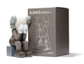 Fine Art - Sculpture, American:Contemporary (1950 to present), KAWS (b. 1974). Passing Through Companion (Brown), 2013.Painted cast vinyl . 11-1/2 x 6-1/2 x 7-1/2...