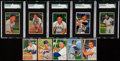 Baseball Cards:Sets, 1952 Bowman Baseball Partial Set (186/252) Plus 2 Extras. ...