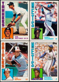 Baseball Cards:Sets, 1984 Topps Tiffany Complete Set (792) Plus Complete Traded Set (132). ...