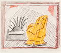 Prints & Multiples, David Hockney (b. 1937). A Picture of Two Chairs, from Moving Focus, 1985-86. Lithograph and etching in colors on Ko...