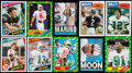 Football Cards:Sets, 1984 thru 1988 Topps Football High Grade Complete And Near Sets (5). ...