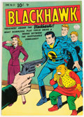 Golden Age (1938-1955):War, Blackhawk #31 (Quality, 1950) Condition: FN/VF....