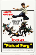 """Movie Posters:Action, The Big Boss (National General, 1973). One Sheet (27"""" X 41"""") US Title: Fists of Fury. Action.. ..."""