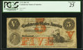 Confederate Notes:1861 Issues, T32 $5 1861 PF-1 Cr. 246.. ...