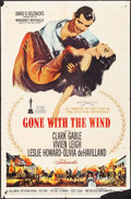 "Movie Posters:Academy Award Winners, Gone with the Wind (MGM, R-1960). One Sheet (27"" X 41""). AcademyAward Winners.. ..."