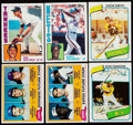 Baseball Cards:Sets, 1980, 1981 & 1984 Topps Baseball Complete Sets Trio (3)....