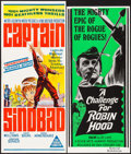 "Movie Posters:Fantasy, Captain Sindbad & Others Lot (MGM, 1963). Australian Daybills(4) (12.5"" X 29"" - 13.5"" X 30""), Australian One Sheets (2) (27...(Total: 7 Items)"