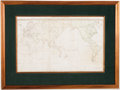 Books:Maps & Atlases, Henry Roberts. A General Chart: Exhibiting the Discoveries Made by Captn James Cook... [possibly Dublin, 1784]. ... (Total: 6 Items)