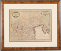 Books:Maps & Atlases, [Italy]. Group of Four Maps of Parts of Italy. [Amsterdam andelsewhere: various dates]. Original Maps.... (Total: 4 ...