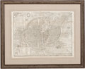 Books:Maps & Atlases, [Paris]. François de Belleforest and Sebastian Münster. Two Maps of Paris from Münster's Cosmographia. Paris and Bas... (Total: 2 Items)