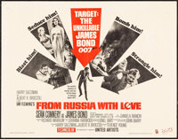 """From Russia with Love (United Artists, 1964). Half Sheet (22"""" X 28""""). James Bond"""