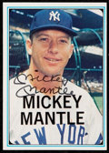 """Baseball Cards:Sets, 1982 ASA """"Mickey Mantle Story"""" Card Set - With One Signed Example. ..."""